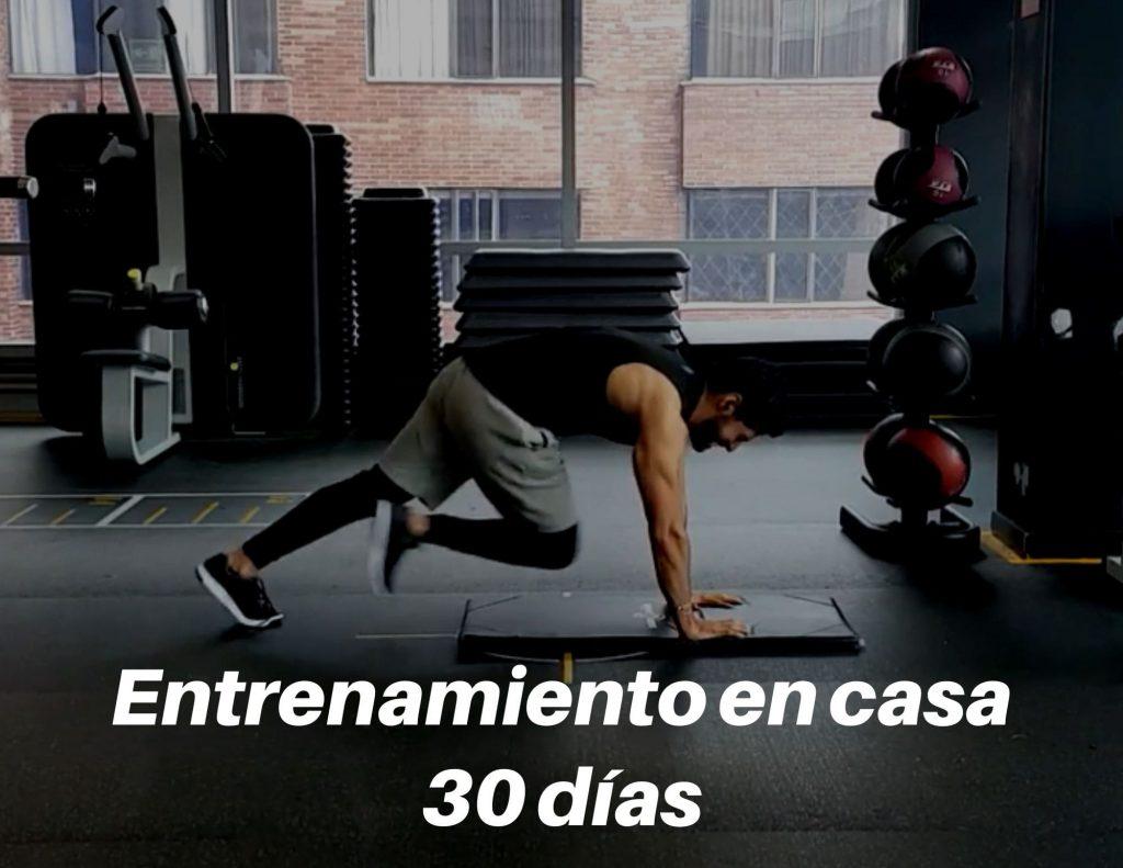 entrenamiento 30 dias